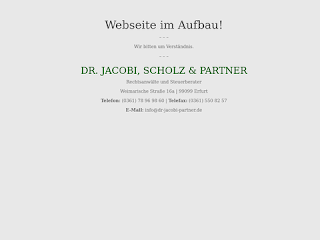 Dr Jacobi Partner