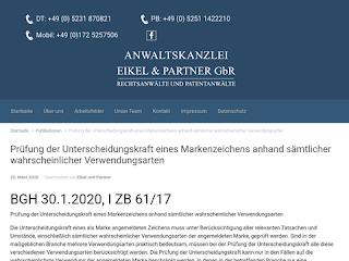 https://anwaltsblogs.de/postimg/https://eikel-partner.de/pruefung-der-unterscheidungskraft-eines-markenzeichens-anhand-saemtlicher-wahrscheinlicher-verwendungsarten?size=320