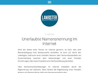 https://anwaltsblogs.de/postimg/https://www.lawbster.de/unerlaubte-namensnennung-im-internet?size=320
