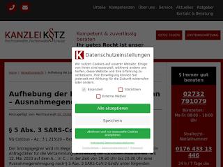 https://anwaltsblogs.de/postimg/https://www.ra-kotz.de/aufhebung-der-lockdown-massnahmen-ausnahmegenehmigung.htm?size=320