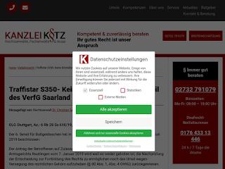 https://anwaltsblogs.de/postimg/https://www.ra-kotz.de/traffistar-s350-keine-einstellung-wegen-urteil-des-verfg-saarland.htm?size=320