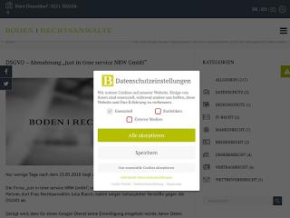 https://rechtsuniversum.de/postimg/https://www.boden-rechtsanwaelte.de/dsgvo-abmahnung-just-in-time-services-nrw-gmbh?size=320