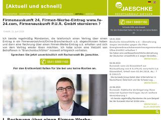 https://rechtsuniversum.de/postimg/https://www.ipjaeschke.de/rechtsanwalt-giessen/markenschutz-markenrecht-nachrichten/250-firmenauskunft-24-firmen-werbe-eintrag-www-fa-24-com-firmenauskunft-p-u-r-gmbh-stornieren.html?size=320