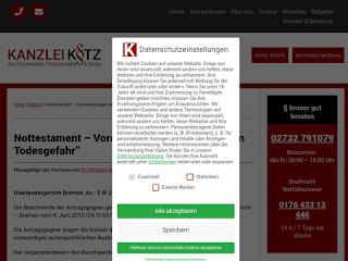 https://rechtsuniversum.de/postimg/https://www.ra-kotz.de/nottestament-voraussetzungen-einer-nahen-todesgefahr.htm?size=320